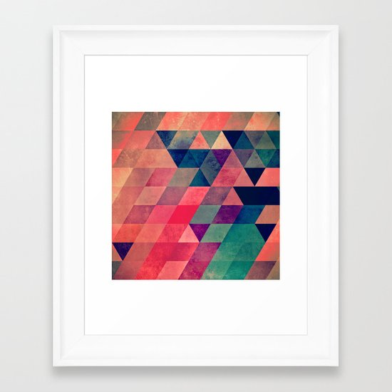 hyt cyryl Framed Art Print