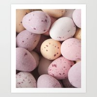 Mini Easter Eggs Delight… Art Print