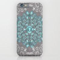 Mandala Pattern with Glitters iPhone 6 Slim Case