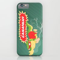iPhone & iPod Case featuring Caimanman by Alapapaju