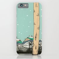 iPhone & iPod Case featuring Behind the Forest by Pips Ebersole