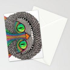 Alice´s cheshire cat by Luna Portnoi Stationery Cards