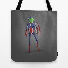 Captain Kermit Tote Bag
