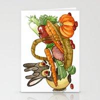 November Jackalope Stationery Cards