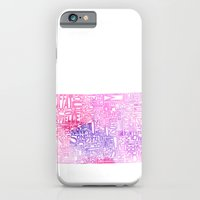 iPhone & iPod Case featuring Typographic Colorado - pink watercolor by CAPow!