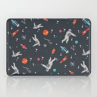 Spaceships, planets and Astronaut iPad Case