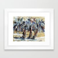 The Getaway  Framed Art Print