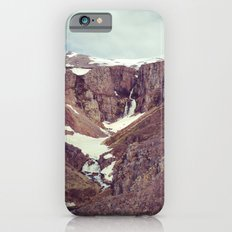 backyard waterfall iPhone 6 Slim Case