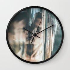 Dreams V (pixel sorted) Wall Clock