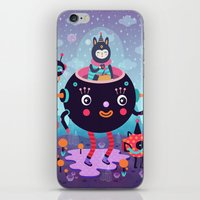 Amigos cósmicos iPhone & iPod Skin