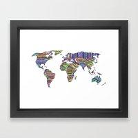 Overdose World Framed Art Print