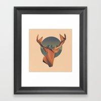 YONDER Framed Art Print