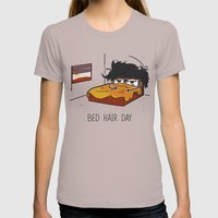 Bed Hair Day Womens Fitted Tee Cinder SMALL