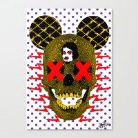 POP DEATH! Canvas Print