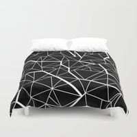 Ab Outline Mod Duvet Cover