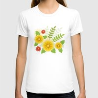 Spring Is Coming Womens Fitted Tee White SMALL