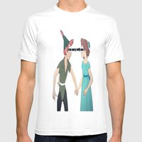 Run Away With Me  Mens Fitted Tee White SMALL