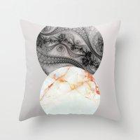 Wisconsin Balls Throw Pillow