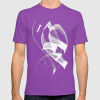 Wafa Mens Fitted Tee Ultraviolet SMALL