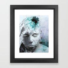 Puzzled Framed Art Print