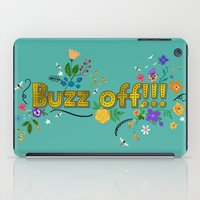 buzz off!!! iPad Case