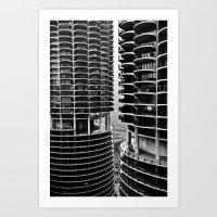 Bertrand's Buildings Art Print