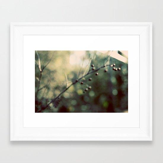 Soothing Framed Art Print