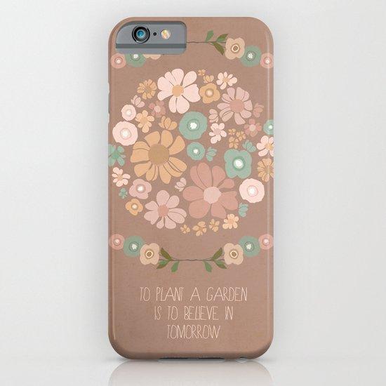Plant a Garden iPhone & iPod Case