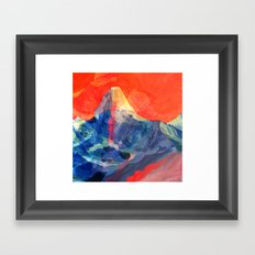 Abstract Mt. Everest Framed Art Print