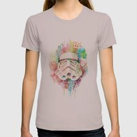 Stormtrooper Womens Fitted Tee Cinder SMALL
