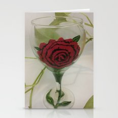 """""""A Rose By Any Other N… Stationery Cards"""