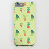Cactus Party Pattern iPhone 6 Slim Case