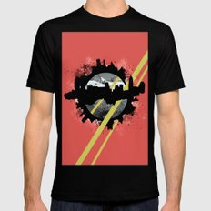 The Event Horizon Mens Fitted Tee Black SMALL