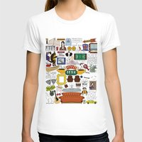 collage T-shirts featuring Collage by Loverly Prints