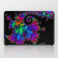 Rainbow Spiral iPad Case