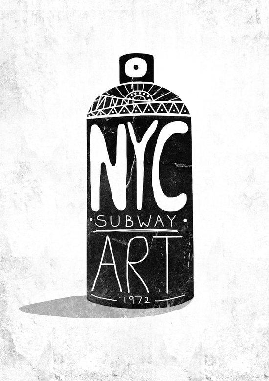 NYC 1972 Art Print