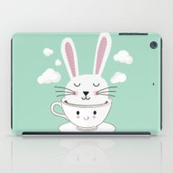 Take A Cup Of Bunny iPad Case