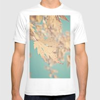 Golden Days  Mens Fitted Tee White SMALL