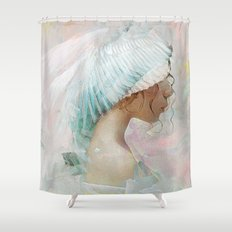 Portrait of a memory Shower Curtain