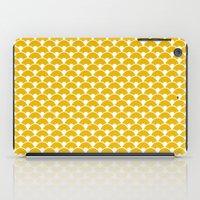 Dragon Scales Mustard iPad Case