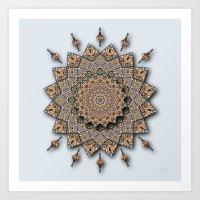 Southwest Art Mandala Art Print