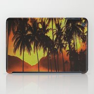 Tropical Beauty iPad Case