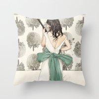 A Shotgun Kind of Wedding Throw Pillow