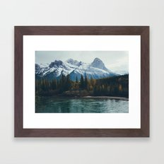 mountain river Framed Art Print