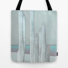 Cactus Blues Tote Bag