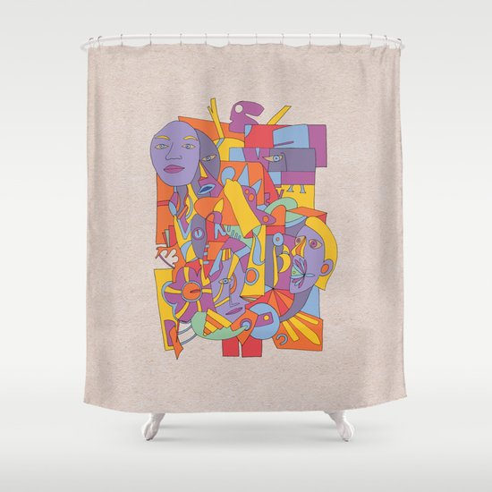 - the high drop - Shower Curtain