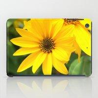 Yellow Flowers iPad Case