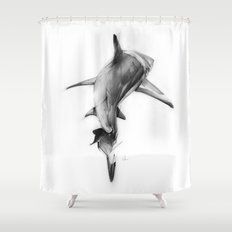 Shark II Shower Curtain