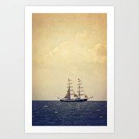 Sailing II Art Print
