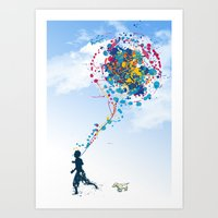 Child Creation Chronicle… Art Print